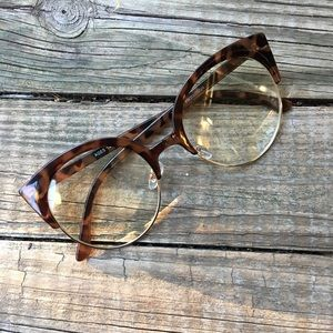Forever 21 Round Clear Glasses